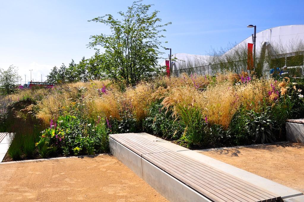 Olympic Park Europe Garden August