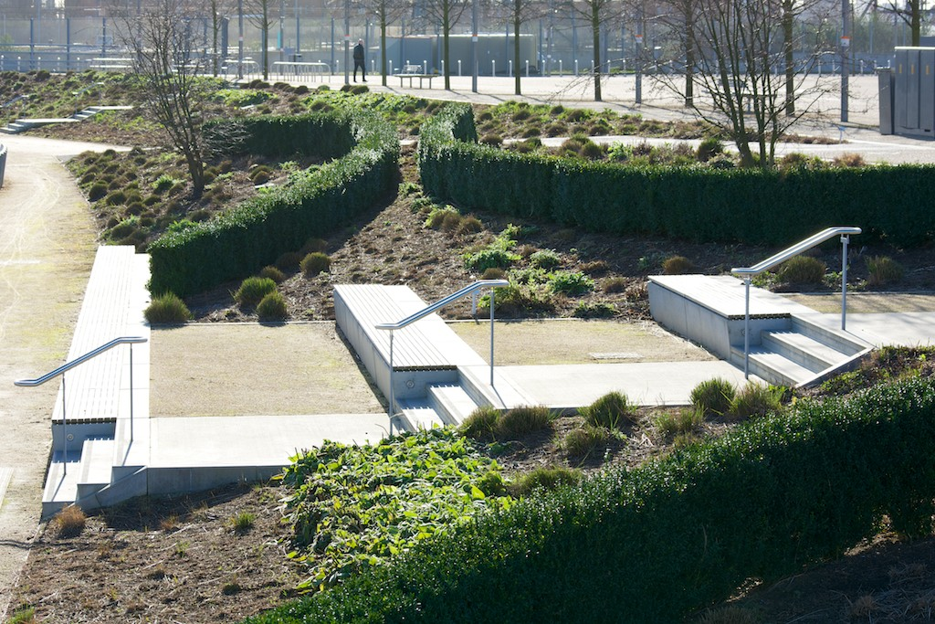 Olympic Park Europe Garden winter